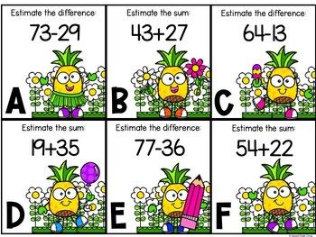 Spring Math Centers (2nd Grade Virginia SOLs)