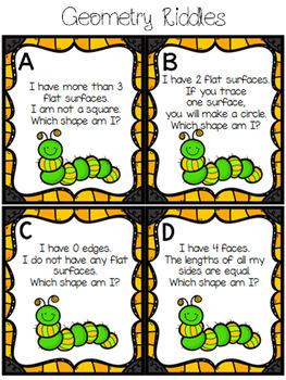 Spring Math Centers (2nd grade)