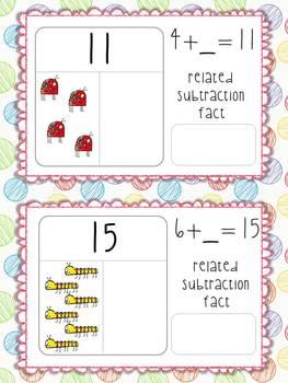 Spring Math Centers!  7 independent center activites