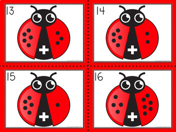 Spring Math Centers- Addition Task Cards