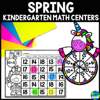 Spring Math Centers CCSS Aligned {Correlates with Math Exp