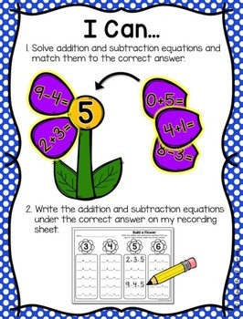 Spring Math Centers! Aligned to the CC