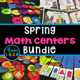 Spring Math Centers Bundle