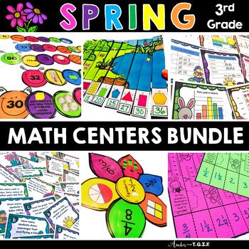 Spring Math Centers Bundle