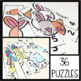 Spring Math Centers- Counting to 10 Puzzles