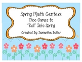 """Spring Math Centers: Dice Games To """"Roll"""" Into Spring"""