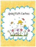 Spring Math Centers - For First Grade - Common Core Aligned