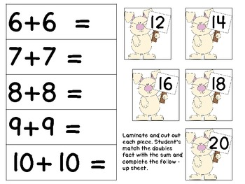Spring Math Centers For the Primary Classroom!