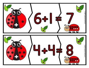 Spring Math Centers ~ LADYBUG MATH BUNDLE