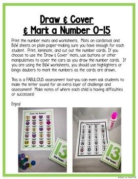 Spring Math Centers: Numbers for Preschool, PreK, K & Homeschool