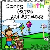 Spring Math Centers and Activities