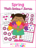 Spring Math Centers and Games