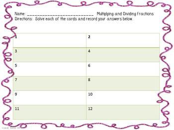 Spring Math Centers for Fifth Grade {Common Core}