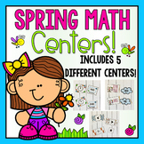 Spring Math Centers for First Grade