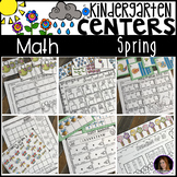 Spring Math Centers {CCSS}
