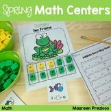 #SPRINGSAVINGS Spring Math Centers for Kindergarten