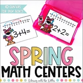 Spring Math Centers for Task Boxes