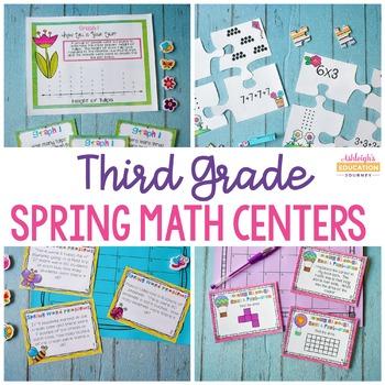 Spring Math Centers - Fun Test Prep