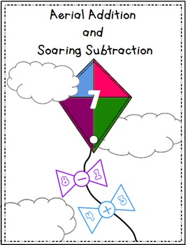 Spring Math Centre {Soaring Subtraction and Aerial Addition}