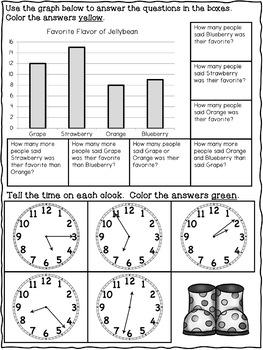 Spring Math Packet