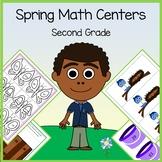 Spring Math Centers - 2nd grade Common Core