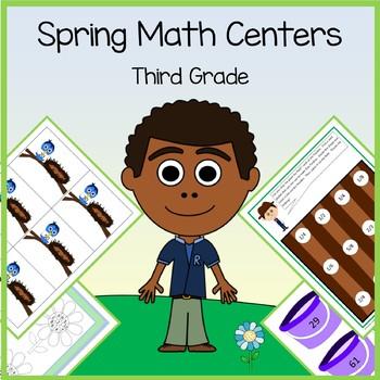 Spring Math Centers - 3rd grade Common Core