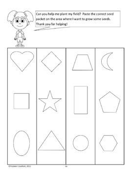 Spring Math Centers - kindergarten Common Core