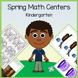 Spring Math Centers - kindergarten Common Core