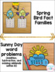 Spring Math Craftivities {Equations, Word Problems, Comparing, Base Ten}