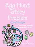 Spring Math Craftivity (Egg Hunt Addition!)
