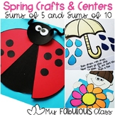 Spring Crafts and Centers for Decomposing 10