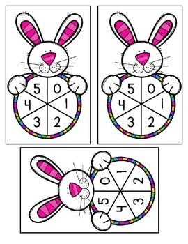Spring Math FREEBIE for K & 1