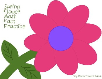 Spring Math Fact Practice Game