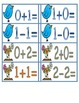 Spring Math Facts 0-13