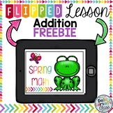 Spring Math Flipped Lesson - FREEBIE Distance Learning
