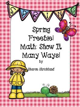 Spring Math Freebie!