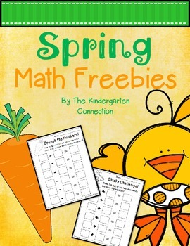 Spring Math Freebies!