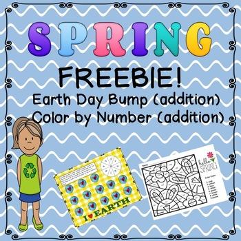 Spring Math Freebies