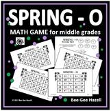 Spring Math Game for Middle Grades (SPRING-O)