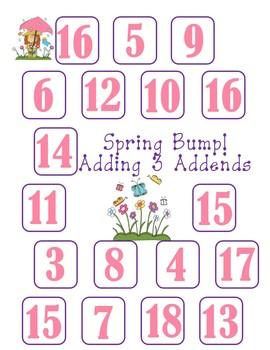 Spring Math Games
