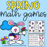 Spring Math Games for Addition, Subtraction & Place Value