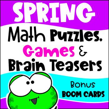 Spring Activities Spring Math Games Spring Math Worksheets Spring