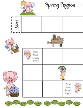 Spring Math Games and Centers - Addition, Subtraction, Graphing & More!