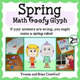 Spring Math Goofy Glyph (2nd grade Common Core)