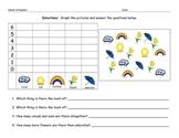 Spring Math Graphing Morning Work Worksheet