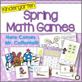 Spring Math Games and Activities for Kindergarten