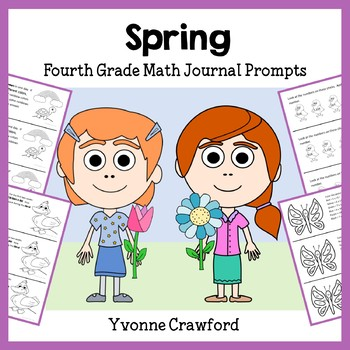 Spring Math Journal Prompts (4th grade)