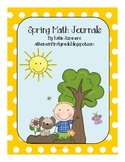Spring Math Journals for Lower Grades
