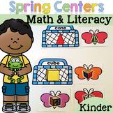 Spring Math & Literacy Centers {Kindergarten}