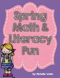 Spring Math & Literacy Fun